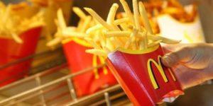 Frite mcdonald's contre la calvitie
