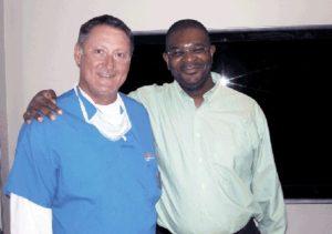 Dr Mwamba et Dr Cole