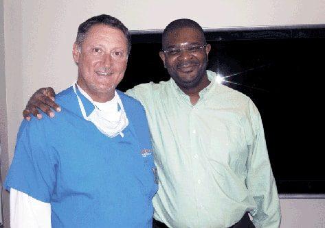 Dr Mwamba & Dr Cole